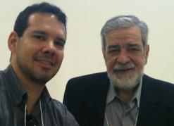 Mauricio Zágari e Augustus Nicodemus em 2011