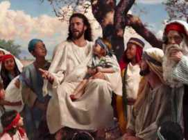 Jesus flores pássaros